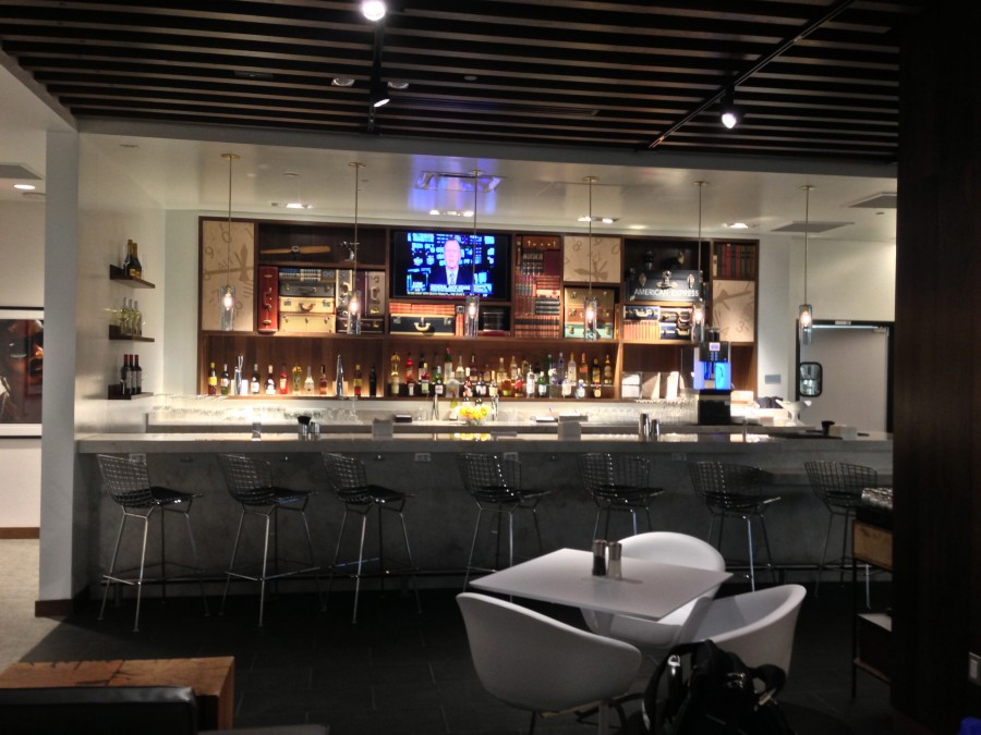 Amex Centurion Lounge Las Vegas