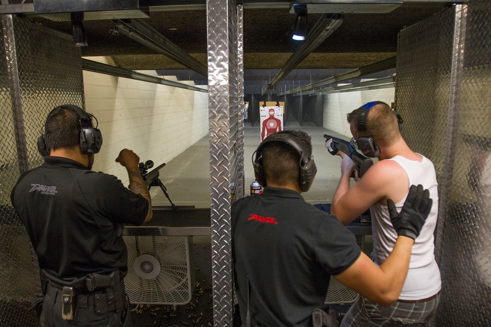 Shoot A Machine Gun @ 702 Range