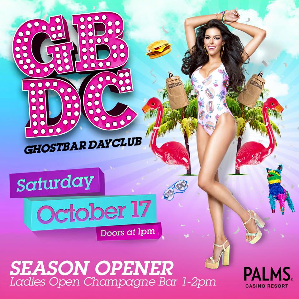 Ghostbar Dayclub Opens October 17th