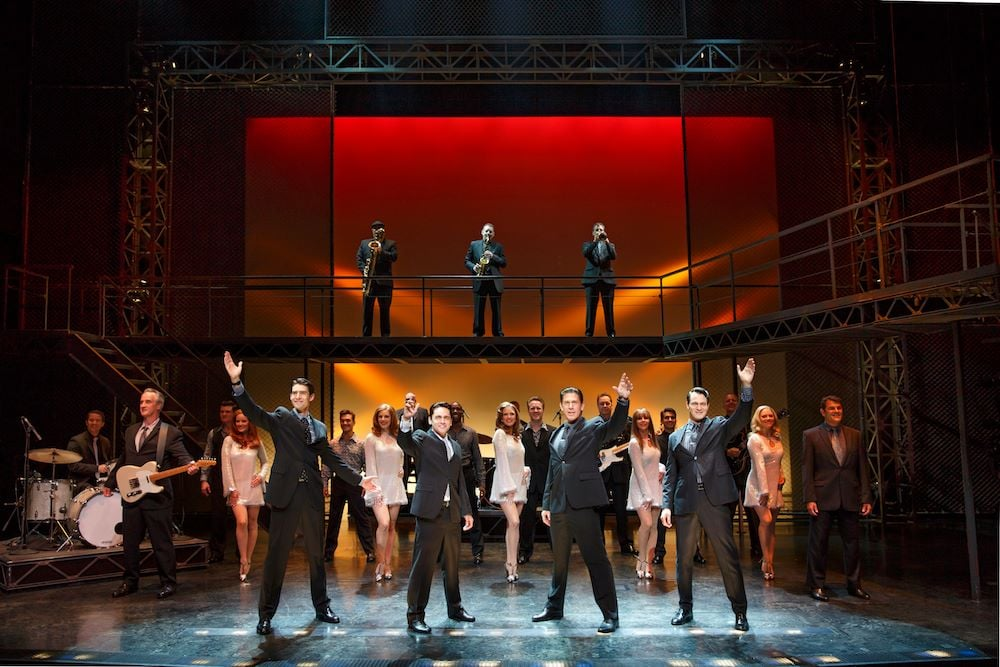 See the great Jersey Boys Today!