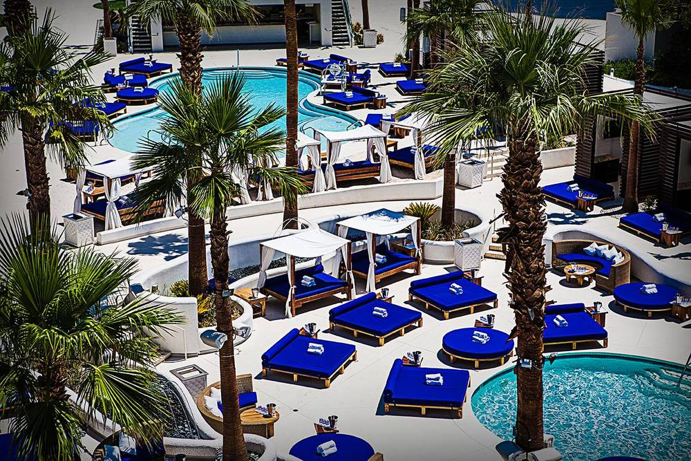 Sky Beach Club Las Vegas. Vegaster Tip: Ton of VALUE at this Pool Party!