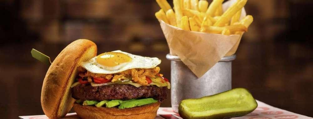 LVB Burgers & Bar inside Mirage Hotel & Casino Las Vegas