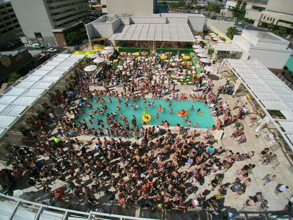 Vegas pools are not just for parties for Pool show in las vegas