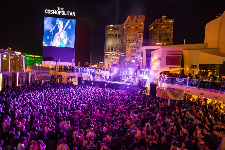 Boulevard Pool at Cosmo Las Vegas