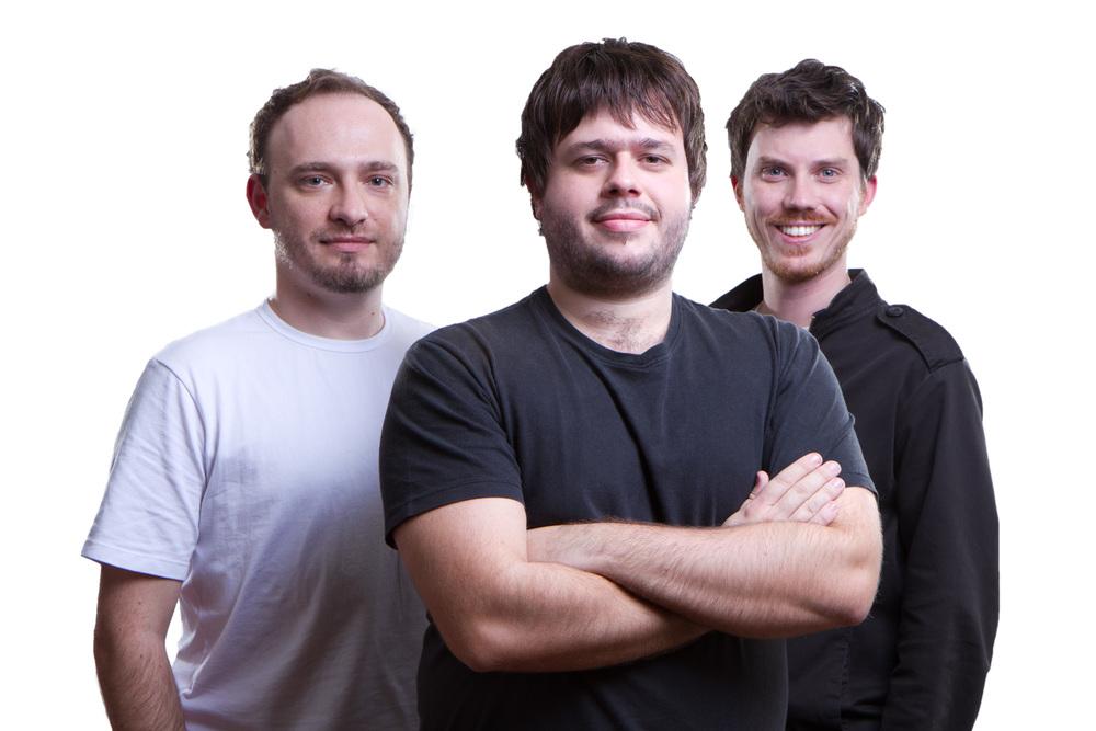 Rodrigo Sztelzer, Rafael Borges e Pedro Meneghetti, do Have a Nice Beer (Foto: Divulgação)