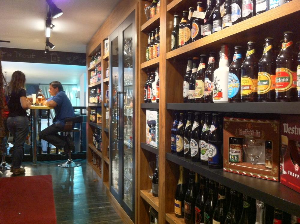 Minipub na Spirito Santo da Rua 24 de Outubro em parceria com o Bier Markt (Foto: Ricardo Jaeger)