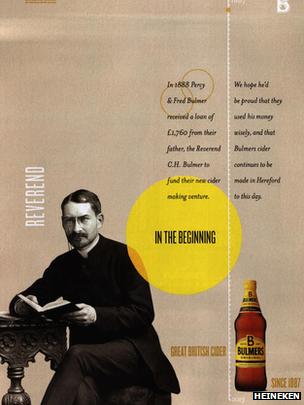 Na foto, em vez do patriarca da sidra, está um religioso que tratava alcoólatras