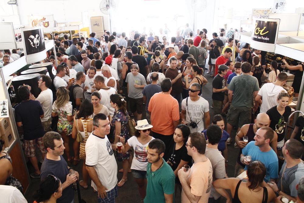 Mondial de La Bière no Rio conquistou o público(Foto: Divulgação)