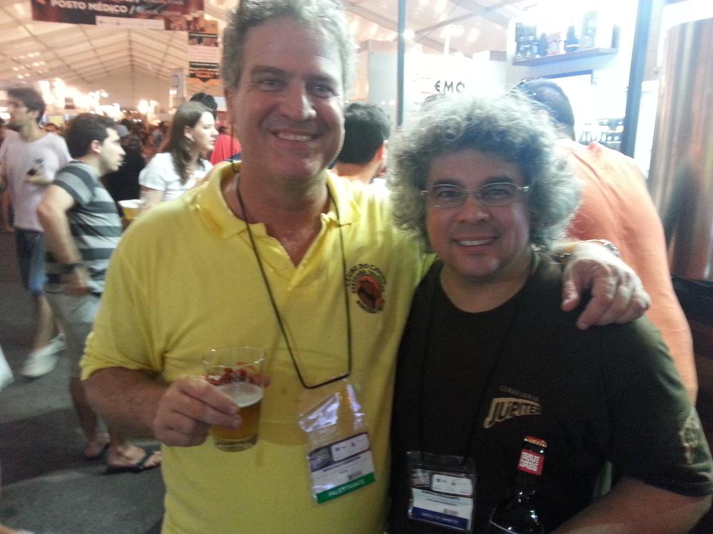 Marcelo Carneiro, da Colorado, e Samuel Cavalcantti, da Bodebrown (Foto: Luís Celso Jr.)