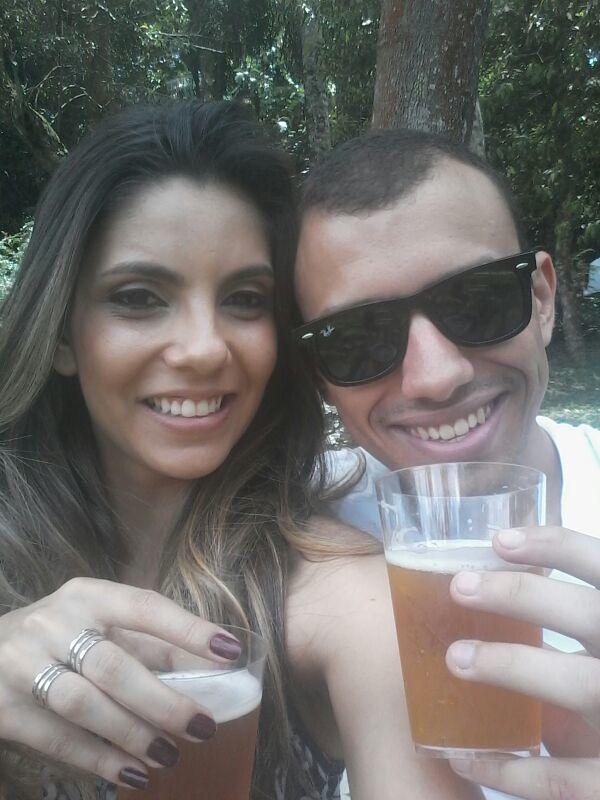Beatriz Bortoletto e Pedro Ribeiro criaram no Instagram a conta Breja-me (Foto: Arquivo Pessoal)