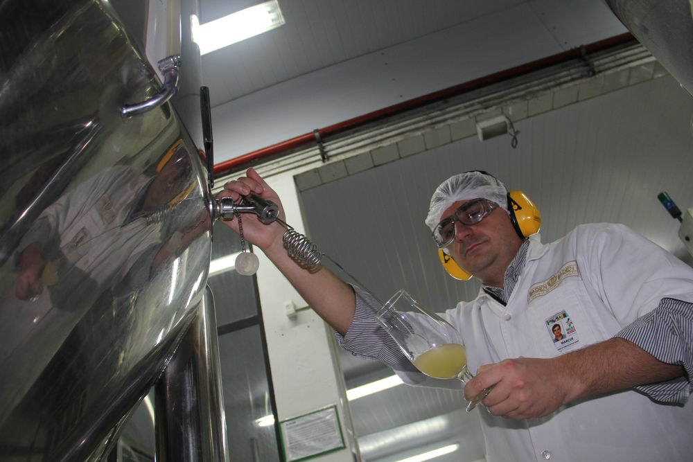 Marcus Dapper, mestre-cervejeiro da Baden Baden (Foto: Rodrigo Cavalheiro)
