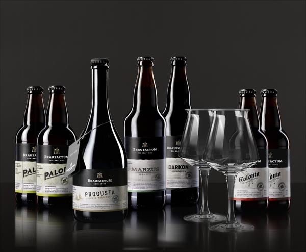 Sofisticada linha de cervejas alemã Braufactum está chegando ao Brasil (Foto: Divulgação)