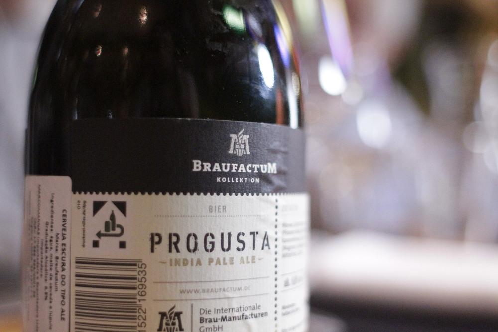 Progusta  ‒ Estilo: IPA, 6,8% de teor alcoólico ( Foto: Altair Nobre)