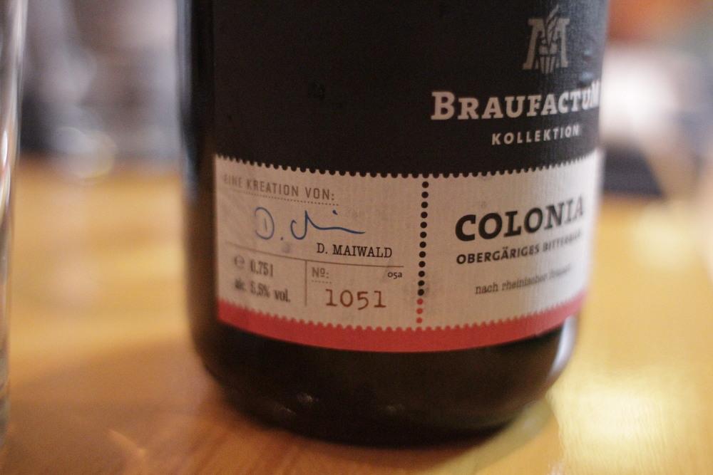 Colonia  ‒ Bitter Ale, 5,5% (Foto: Altair Nobre)