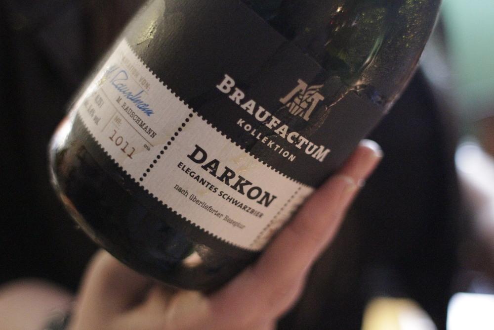 Darkon ‒ Lager escura (Schwarzbier), 5,4% (Foto: Altair Nobre)
