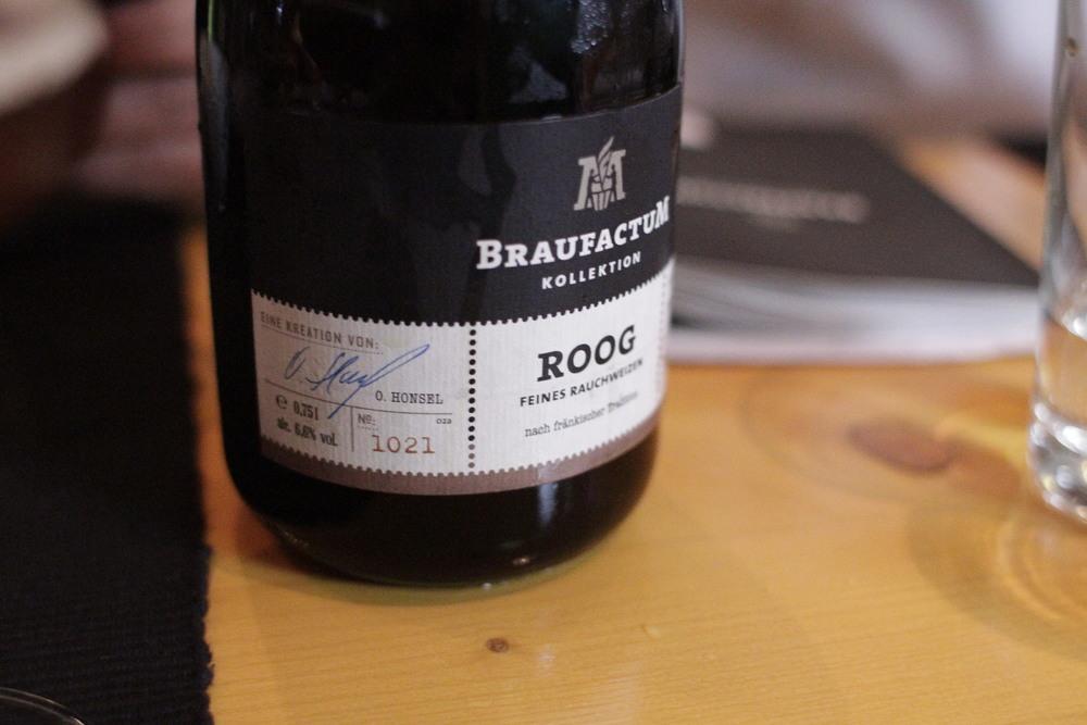 Roog  ‒ Ale escura (Rauchweizen), 6,6% (Foto: Altair Nobre)