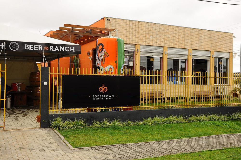 A Bodebrown, com loja, fábrica e escola (Foto: Divulgação)