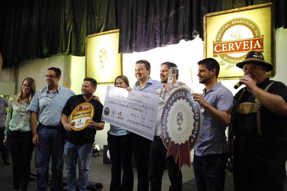 A Stout Açaí, da Amazon Beer, recebeu 91 pontos entre os 100 possíveis e foi eleita a melhor cerveja (Foto: Ricardo Jaeger)