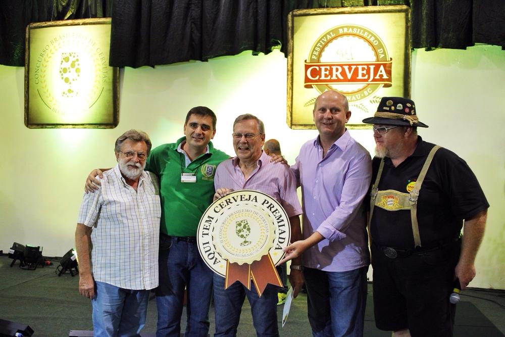A Brasil Kirin ficou com a segunda posição no pódio, entre as mais premiadas cervejarias (Foto: Ricardo Jaeger)