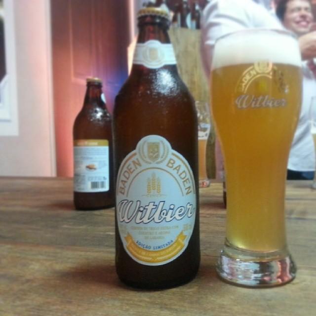 Witbiers no Festival mostraram a preocupação das cervejarias em terem cervejas leves mas também mais elaboradas (Foto: Luís Celso Jr.)