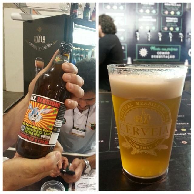 Com a Session Citra, a Wäls apresenta um dos exemplos das cervejas de teor alcoólico reduzido que pipocaram entre as cervejarias artesanais neste verão (Fotos: Luís Celso Jr.)