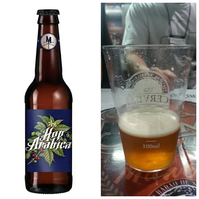 A Hop Arábica é uma Belgian Strong Golden Ale da Morada Cia. Etílica, com equilíbrio delicado entre o café e os aromas fenólicos e frutados da cerveja belga (Fotos: Luís Celso Jr)