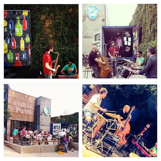 Quem postou estas imagens no Instagram: em sentido horário, a partir da 1ª ao alto, tatiklix, caiobrewdog, henriquermendonca, brewdogsaopaulo (Seleção da Revista Beer Art)