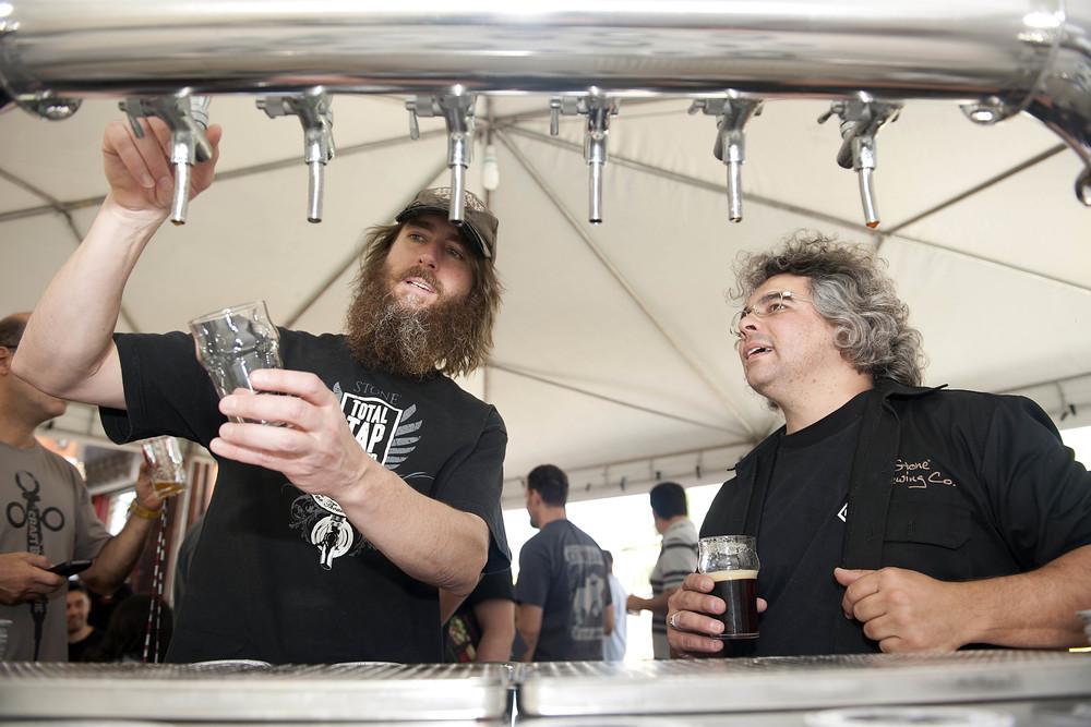 Greg Koch, cofundador e presidente da Stone Brewing, é um influente aliado