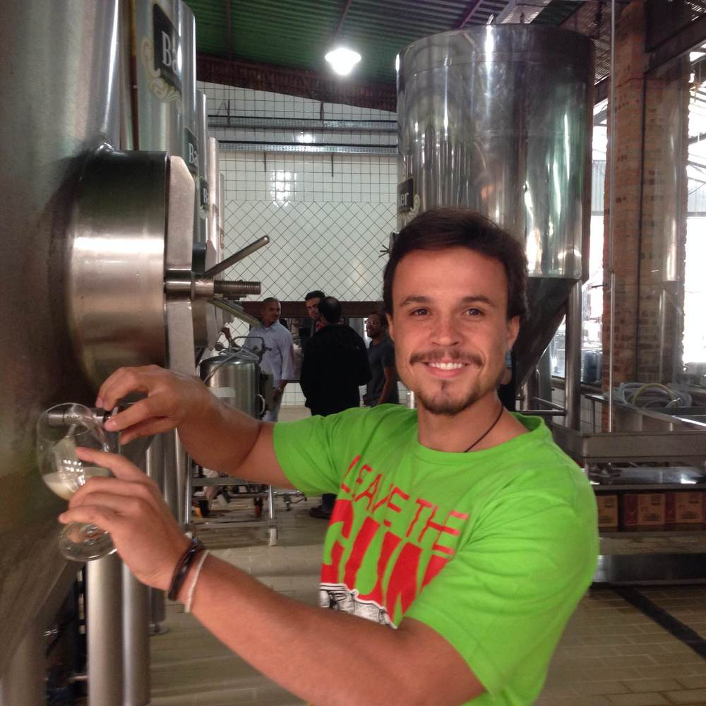 Samuel Viterbo diz ter saído do curso com uma visão mais realista sobre o mercado cervejeiro (Foto: Arquivo Pessoal)