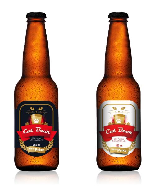 Bebida para os felinos é a nova aposta da Dog Beer (Foto: Divulgação)