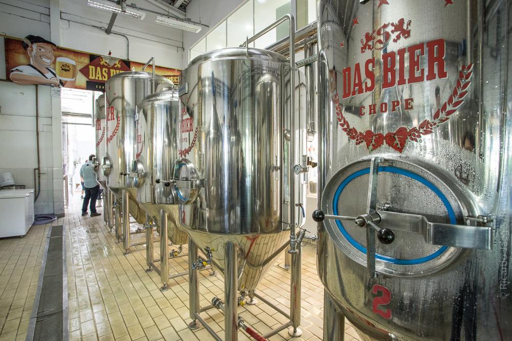 O projeto era fazer um brewpub mas a aceitação levou a família Schmitt a ampliar o negócio e instalar fábrica (Foto: Ricardo Jaeger/Beer Art)