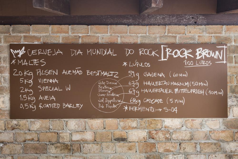 Em brassagem coletiva, foi preparada uma Brown Ale com aveia (Foto: Ricardo Jaeger/Beer Art)