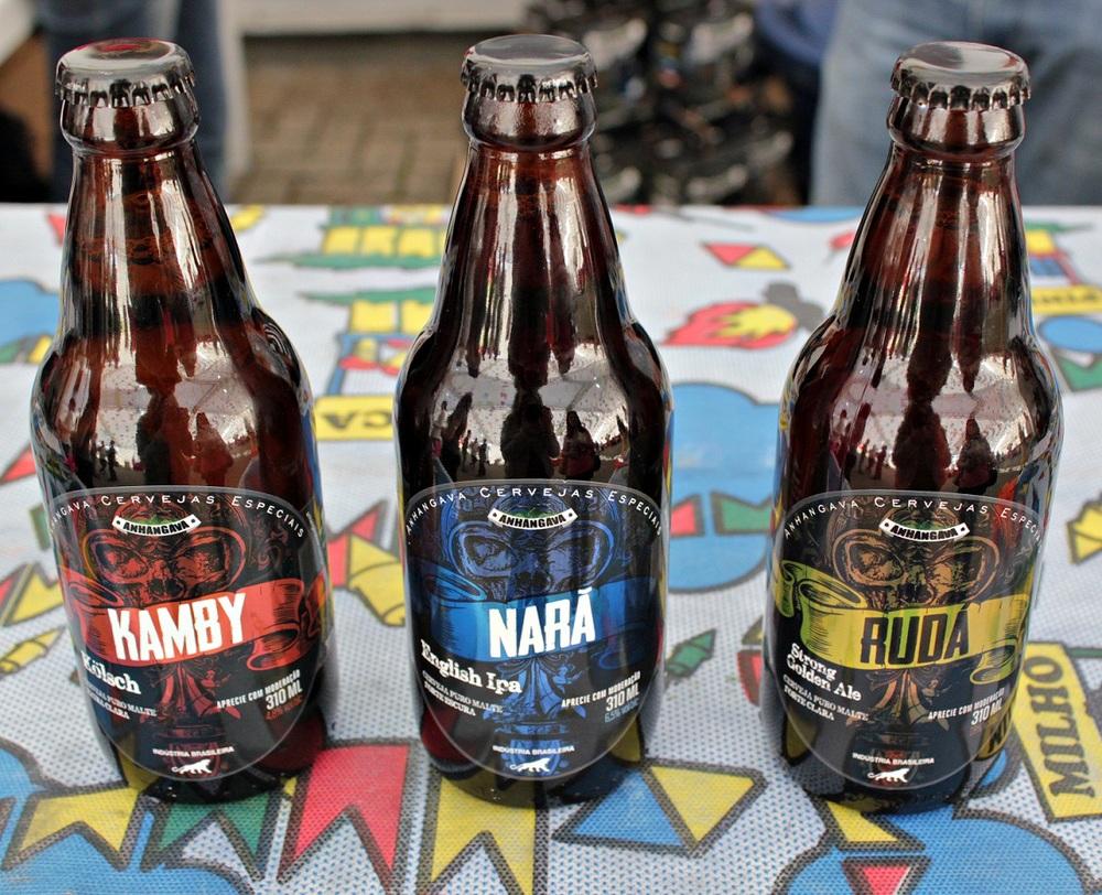 Kamby, Narã e Rudá são os três primeiros rótulos da Anhangava, de Quatro Barras/PR (Foto: Divulgação)