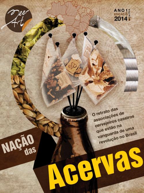 Capa da Beer Art 8, que em julho de 2014 fez um retrato amplo das Acervas