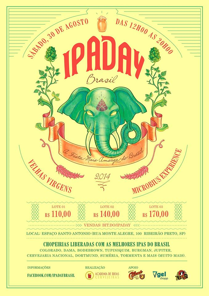 beer art ipa day brasil