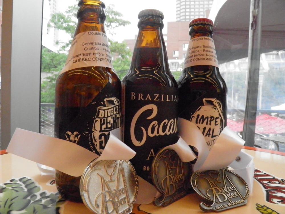 No  Mondial d  e la Bière Montréal 2014, a Bodebrown conquistou a medalha principal , a de platina, além de dois ouros (Foto: Divulgação)