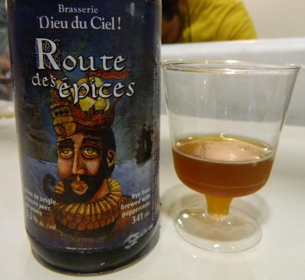 Beber esta Amber Ale com pimenta do reino e verde foi uma das ótimas experiências durante o Degusta Beer & Food, em São Paulo (Foto: Raphael Rodrigues/Beer Art)