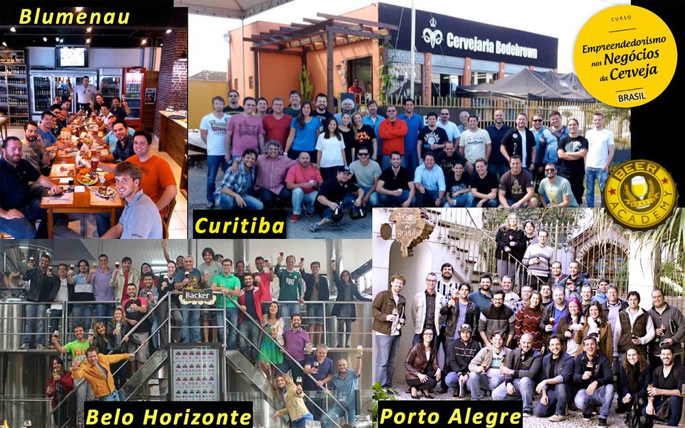 Depois de passar por Belo Horizonte, Blumenau, Curitiba, São Paulo e Porto Alegre o curso chega a Ribeirão Preto(Foto: Divulgação/Beer Academy)