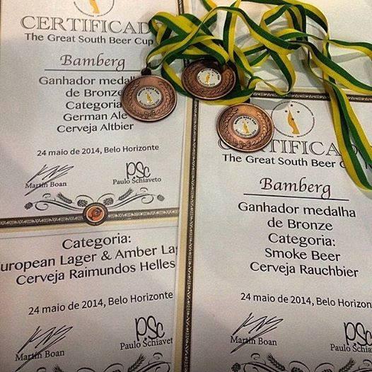Medalhas na South Beer Cup são apenas uma mostra de um acervo repleto de premiações (Foto: Raphael Rodrigues/Beer Art)