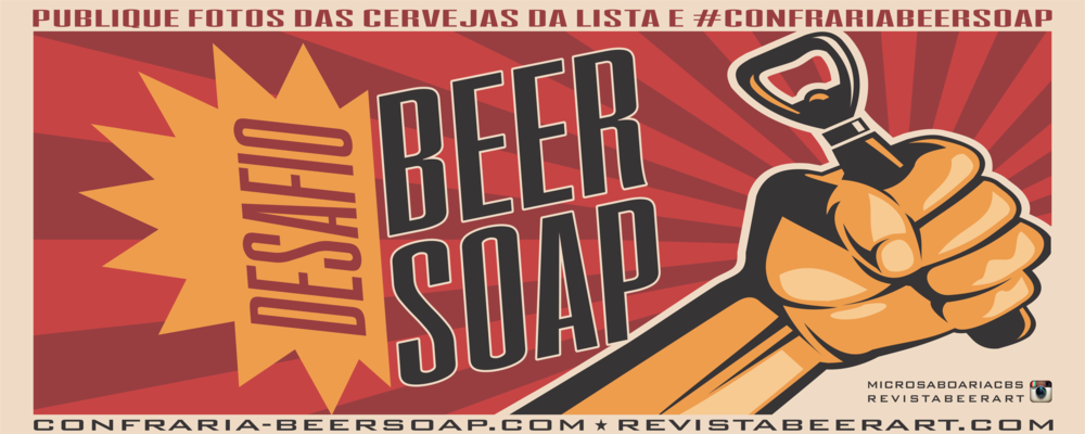 As regras estão nos sites da Confraria Beer Soap e da Revista Beer Art