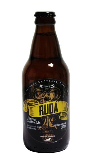 A Rudá, com 7,8% de teor alcoólico, é fabricada com levedura belga e lúpulos americanos (Foto: Divulgação)