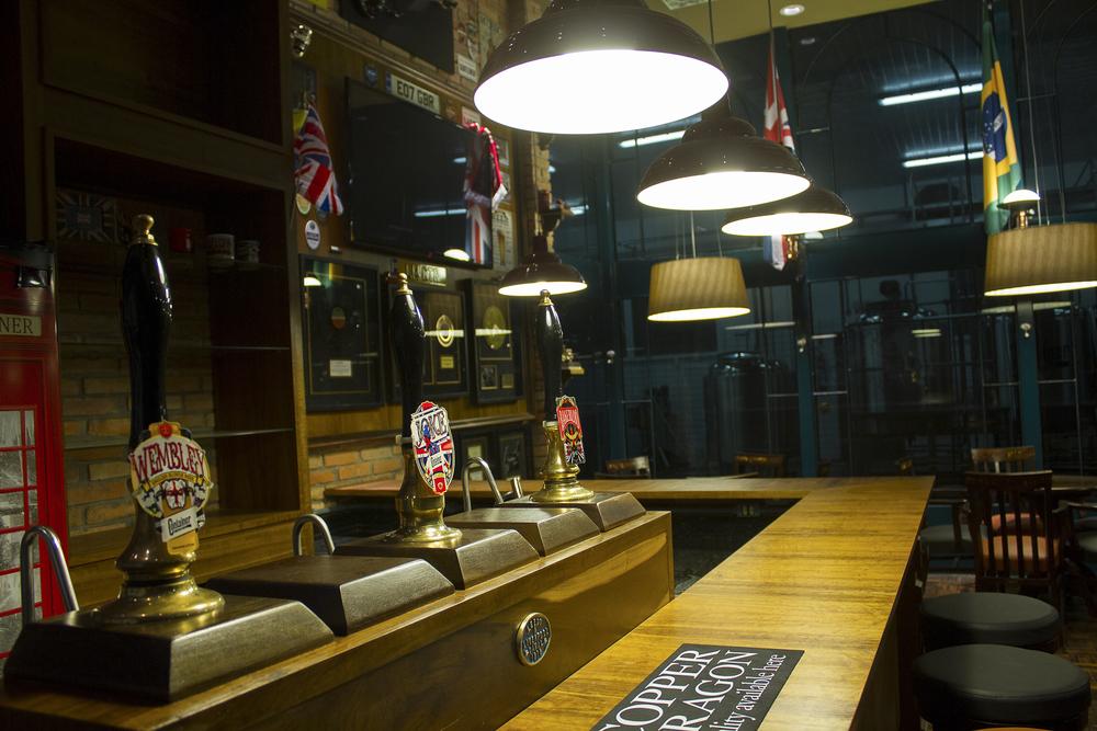 O Pub está localizado junto à cervejaria, com isso alguns rótulos serão servidos direto do tanque (Foto: Divulgação)