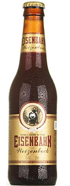 Eisenbahn Weizenbock é, conforme o World Beer Awards 2014, a melhor cerveja de trigo do mundo