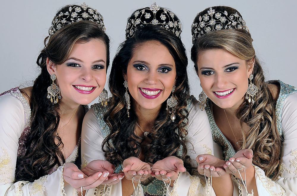 Caroline, Therry e Andressa (Foto: Rodrigo Assmann/Divulgação)