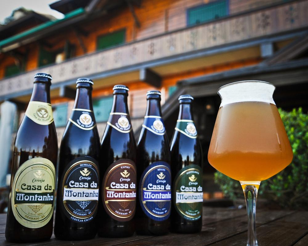A cada edição, o Parador Casa da Montanha oferece a degustação de rótulos de uma cervejaria diferente (Foto: Divulgação)