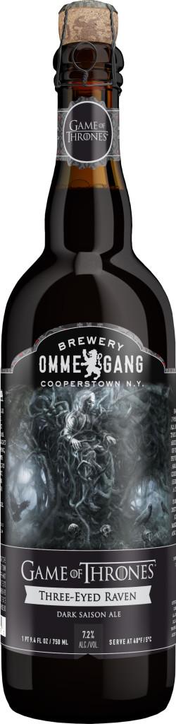 Cerveja é inspirada no corvo de três olhos que prenuncia acontecimentos sombrios na quinta temporada