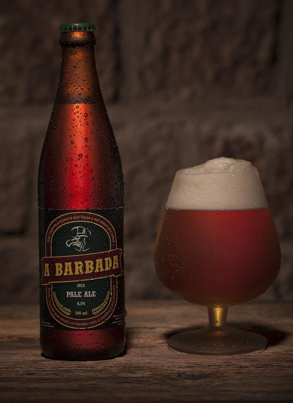 A Barbada, Pale Ale com coloração dourada e 6,5% de teor alcoólico (foto: Divulgação)