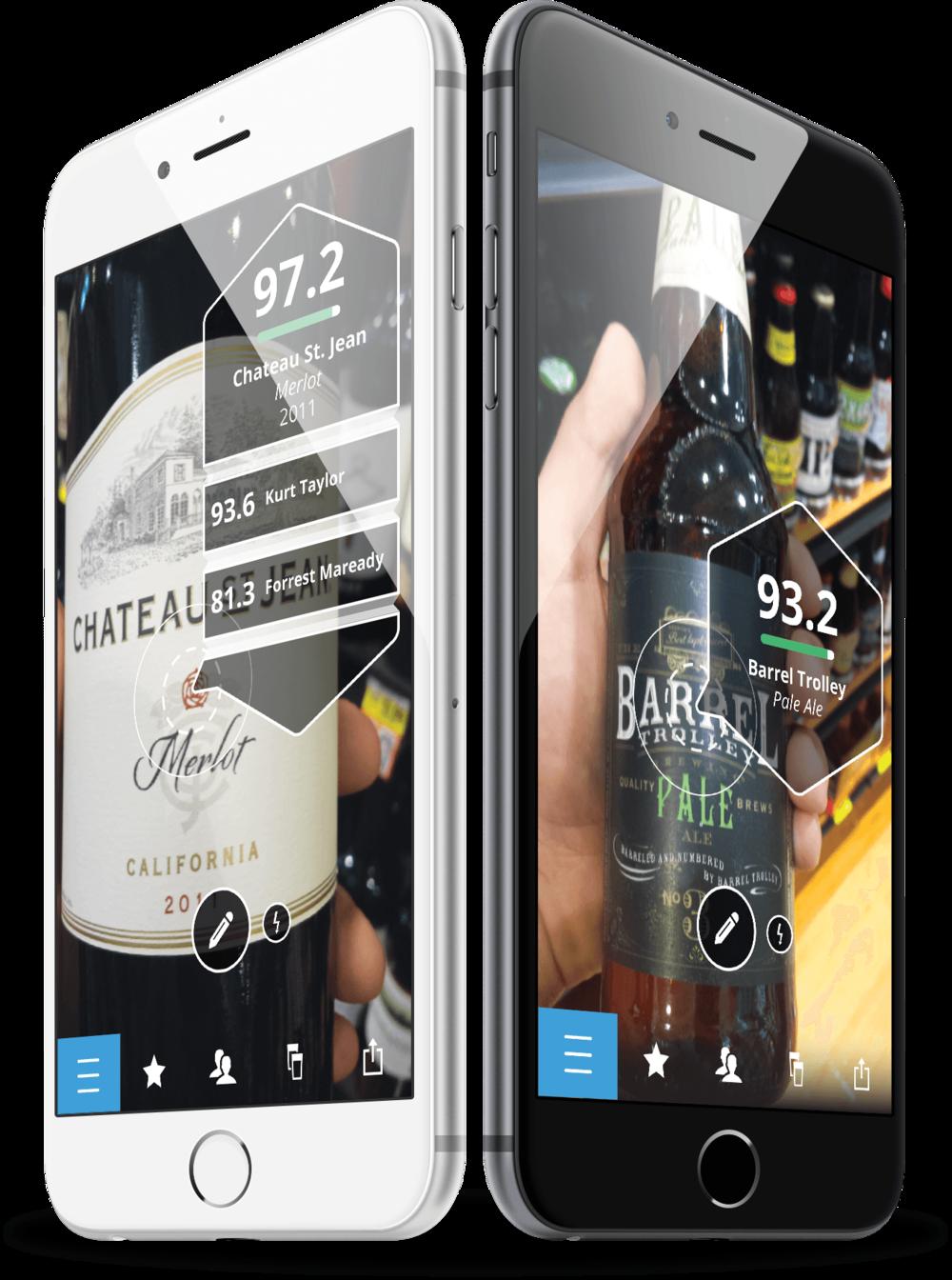 O aplicativo foi desenvolvido para consumidores de cerveja e vinho (Foto: Divulgação)
