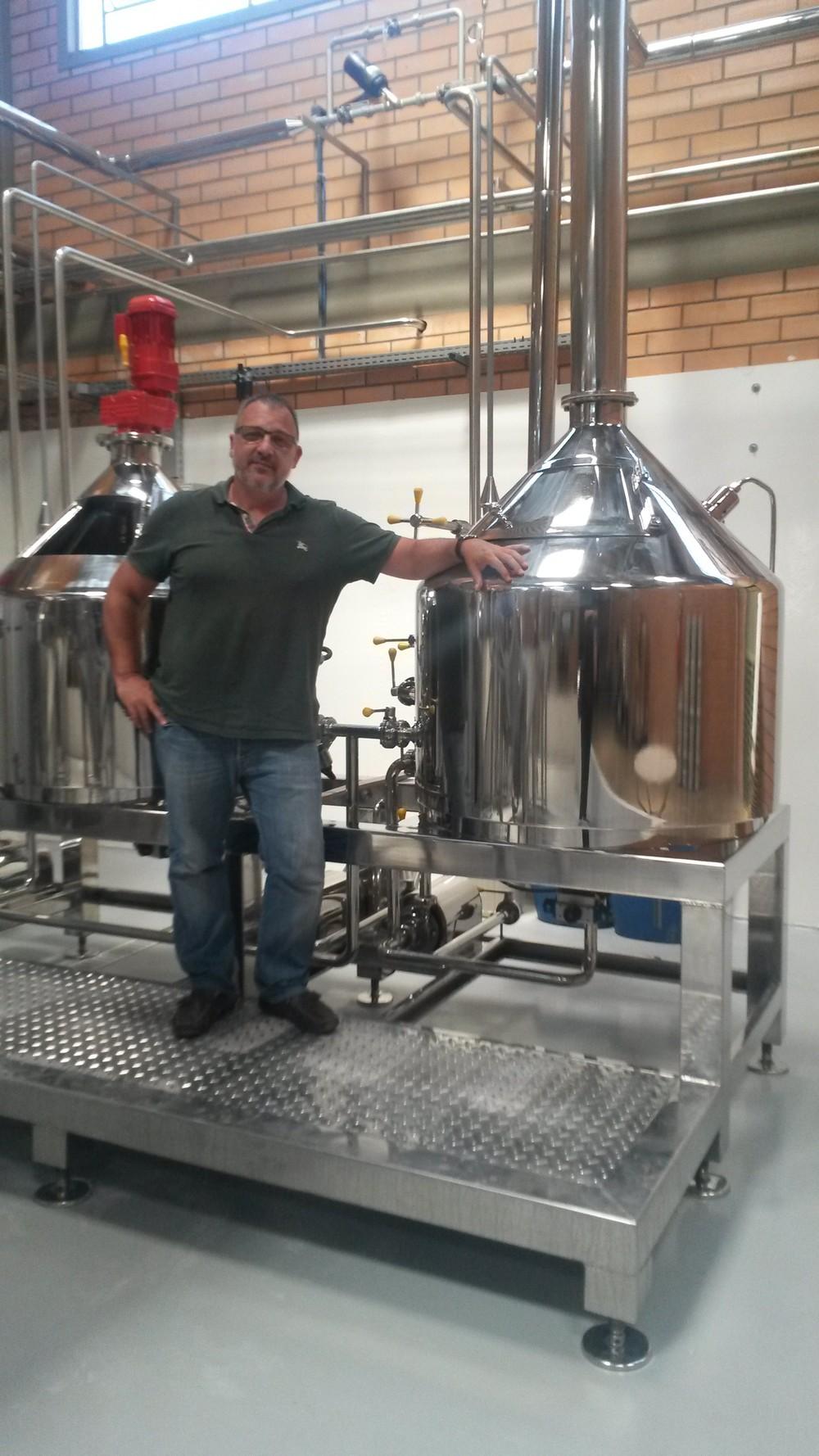 Marcelo Giulian, um dos sócios da cervejaria Porto Alegrense (Foto: Sarah Buogo)