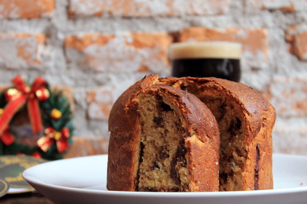 Chocotone com adição da Stout produzida pelo brewpub(Foto: Divulgação)
